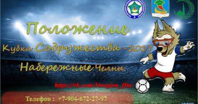 Старт Кубка Содружества-2017