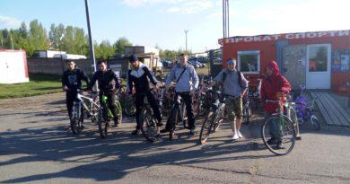 Вело-прогулка мусульманской молодежи
